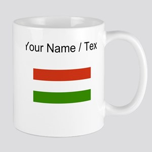 Custom Hungary Flag Mugs