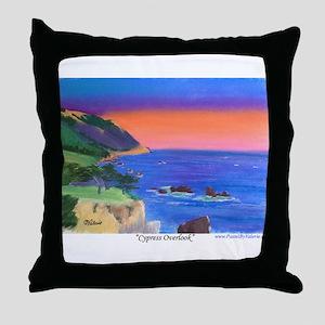Cypress Overlook Throw Pillow