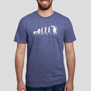 Astronaut Mens Tri-blend T-Shirt