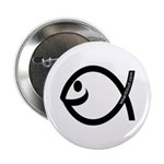 Small Smiling Fish Button