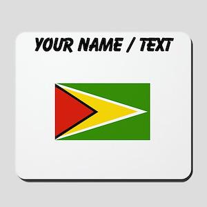 Custom Guyana Flag Mousepad