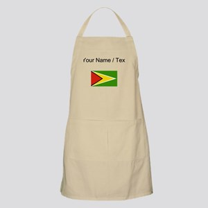 Custom Guyana Flag Apron