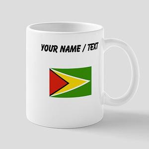 Custom Guyana Flag Mugs