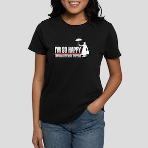 I'M SO Happy - Women's Dark T-Shirt