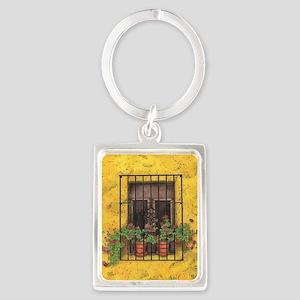 The Sun Window Portrait Keychain