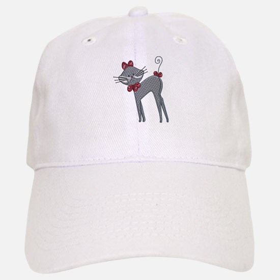 Ribbon Kitty Baseball Baseball Cap