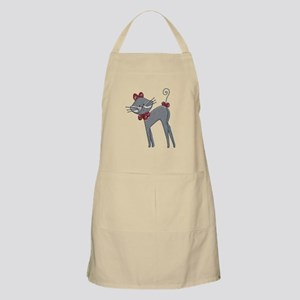 Ribbon Kitty Apron