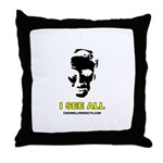 Criswell Predicts Throw Pillow