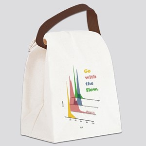 Go with the flow (cytometry) Canvas Lunch Bag