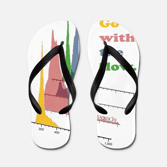 Go with the flow (cytometry) Flip Flops