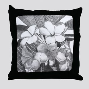 Plumaria Throw Pillow