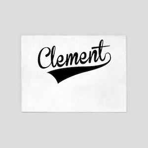 Clement, Retro, 5'x7'Area Rug