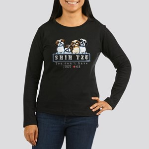 Shih Tzu Just One Dk Long Sleeve T-Shirt