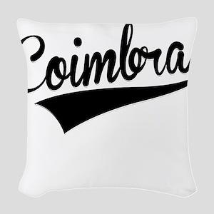 Coimbra, Retro, Woven Throw Pillow