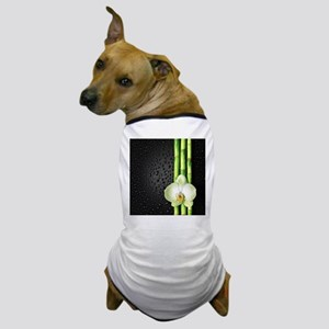 Bamboo Orchid Dog T-Shirt