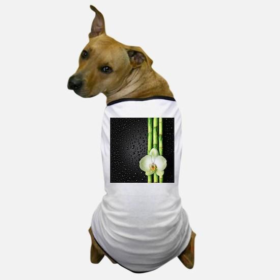 Bamboo Orchid Dog T-Shirt