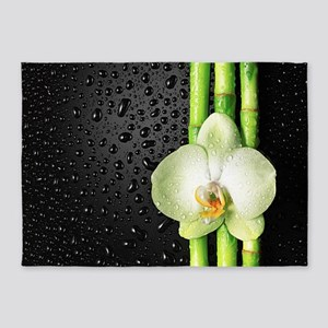 Bamboo Orchid 5'x7'Area Rug