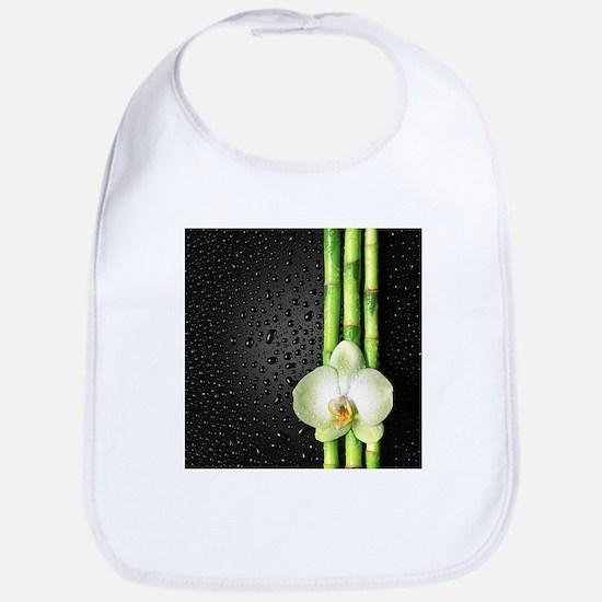 Bamboo Orchid Bib