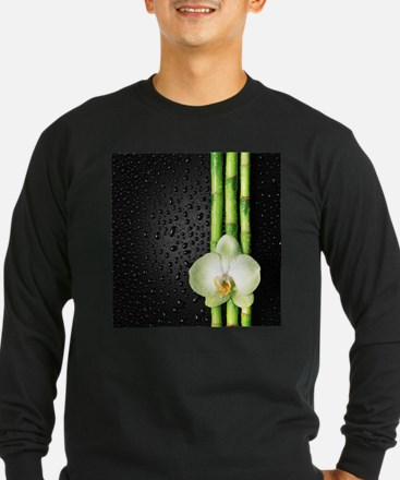 Bamboo Orchid Long Sleeve T-Shirt