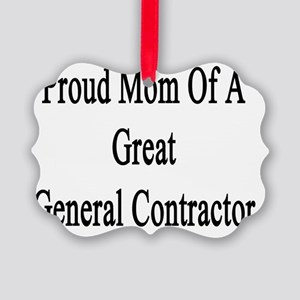Proud Mom Of A Great General Cont Picture Ornament