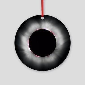 Total Solar Eclipse 1999 Round Ornament