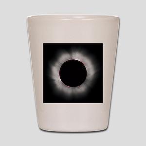 Total Solar Eclipse 1999 Shot Glass