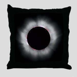 Total Solar Eclipse 1999 Throw Pillow