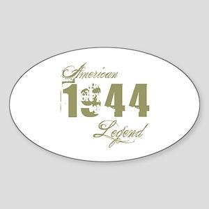 1944 American Legend Sticker (Oval)