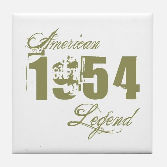 1954 American Legend Tile Coaster