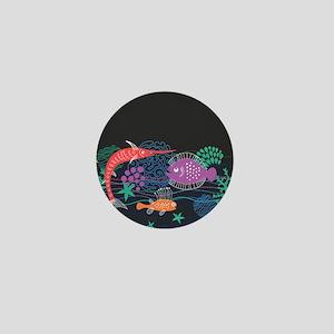 Sea Life Mini Button