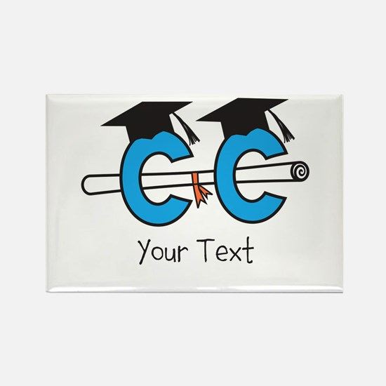 Customize Cross Country Grad Magnets