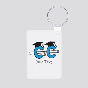 Customize Cross Country Grad Keychains