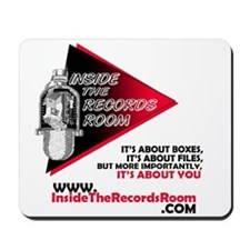 Inside The Records Room Mousepad