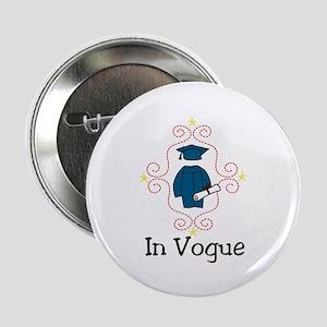 """In Vogue 2.25"""" Button"""