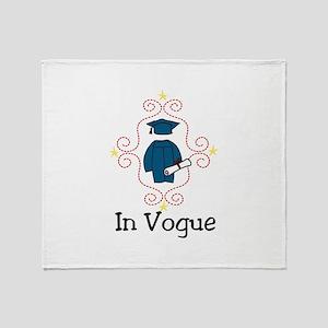In Vogue Throw Blanket