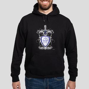 St. Michael's Sword Hoodie (dark)