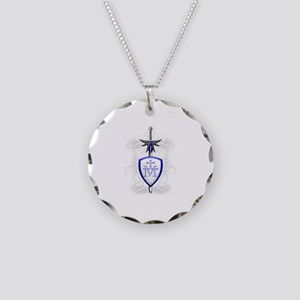 St. Michael's Sword Necklace Circle Charm