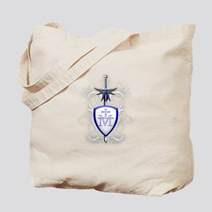 St. Michael's Sword Tote Bag