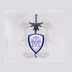 St. Michael's Sword Throw Blanket