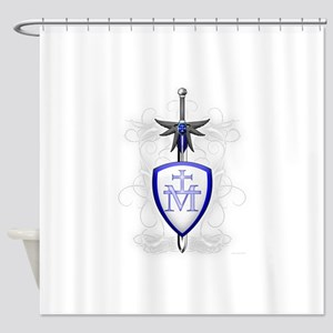 St. Michael's Sword Shower Curtain