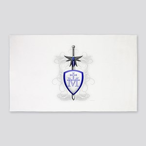 St. Michael's Sword 3'x5' Area Rug