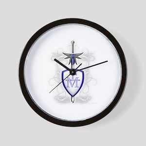 St. Michael's Sword Wall Clock