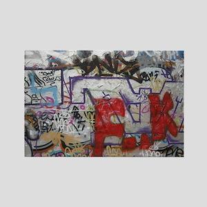 Graffiti Rectangle Magnet