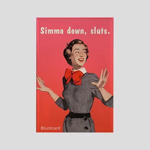 Simma Down, Sluts, By Bluntcard Magnets