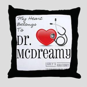 DR. McDREAMY Throw Pillow