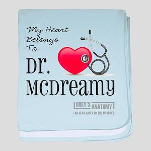 DR. McDREAMY baby blanket