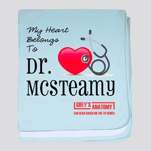 DR. McSTEAMY baby blanket