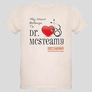 DR. McSTEAMY Organic Kids T-Shirt