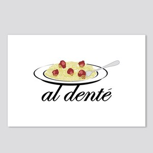 al dente Postcards (Package of 8)