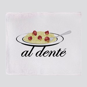 al dente Throw Blanket